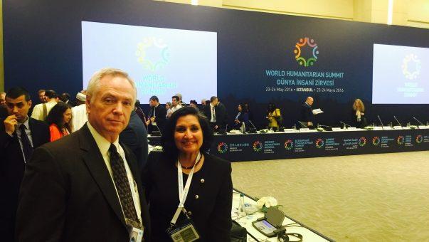 Община Бахаи участвует в первом Всемирном Гуманитарном Саммите