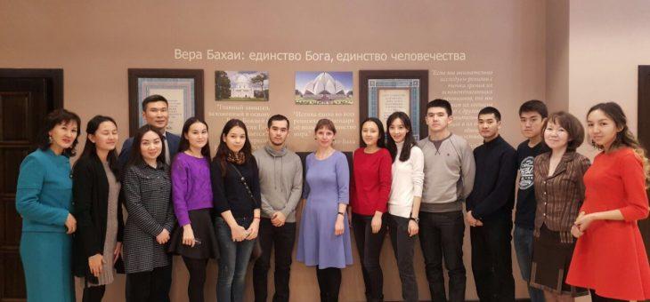 Встреча с будущими социологами, 10 ноября 2016г, Астана